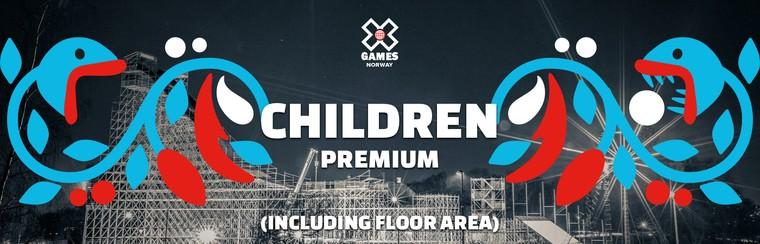 Premium Children Ticket (Including Floor Area)