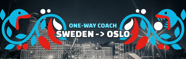 One-way Coach Travel | Sweden to Oslo