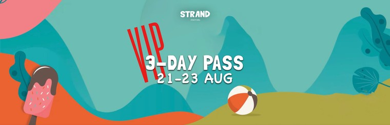 VIP 3-Day Pass (21st-23rd of August)