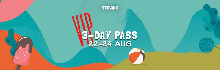 VIP 3-Day Pass (22nd-24th of August)