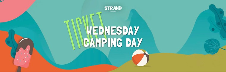 Wednesday Camping Day Ticket