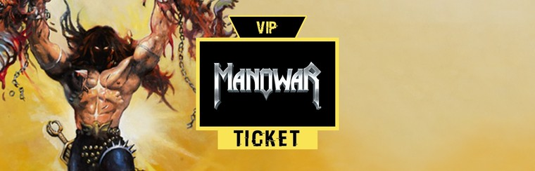 VIP Ticket | Manowar