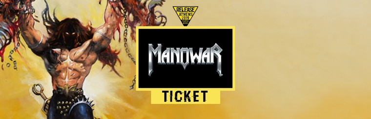 GA Ticket | Manowar