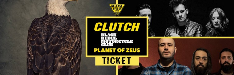 GA Ticket | Clutch + BRMC + Planet Of Zeus