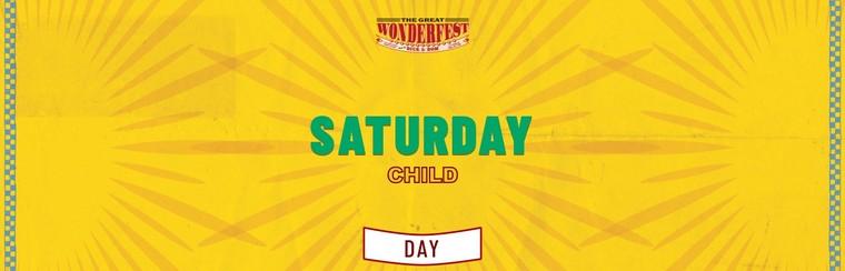 Child Saturday Day Ticket