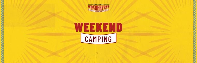 Wochenend-Campingticket