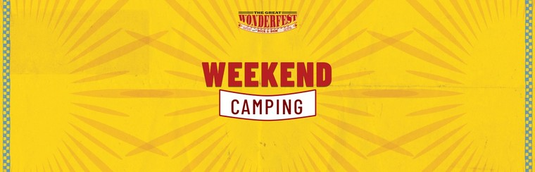 Accessible/Carer Weekend Camping Ticket