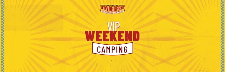 VIP Weekend Camping Ticket