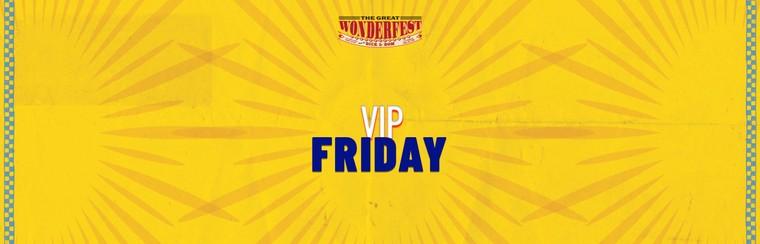 VIP-Tagesticket Freitag
