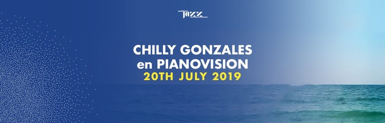 Chilly Gonzales en PianoVision - 20th July 2019
