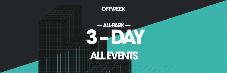 3-Day All Park Ticket (All Events)