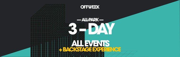 3-Day All Park Ticket - Backstage Experience