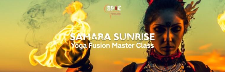 Ticket - Sahara Sunrise - Yoga Fusion Master Class