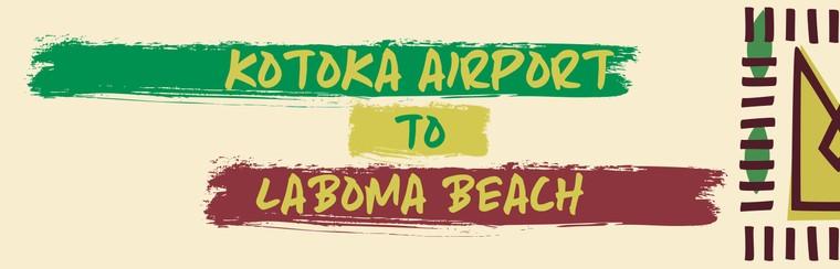 I'Way One-Way Transfer - Kotoka International Airport to Laboma Beach