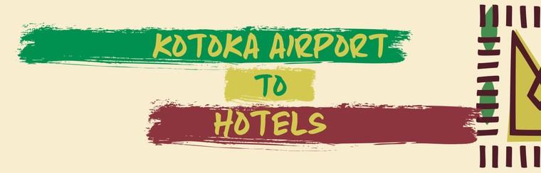 I'Way One-Way Transfer - Kotoka Airport to Hotels