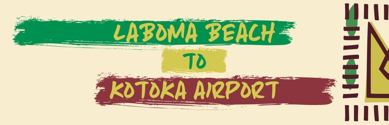 I'Way One-Way Transfer - Laboma Beach to Kotoka International Airport
