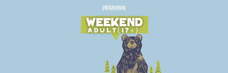 Adult (17+) Weekend Ticket