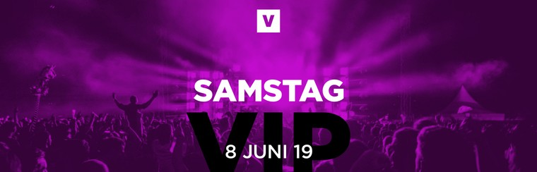 One Day VIP Ticket - Saturday