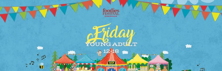 Young Adult (12-18) Friday Ticket