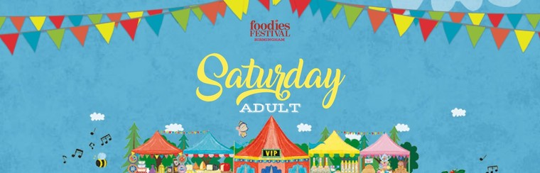 Saturday Adult Ticket