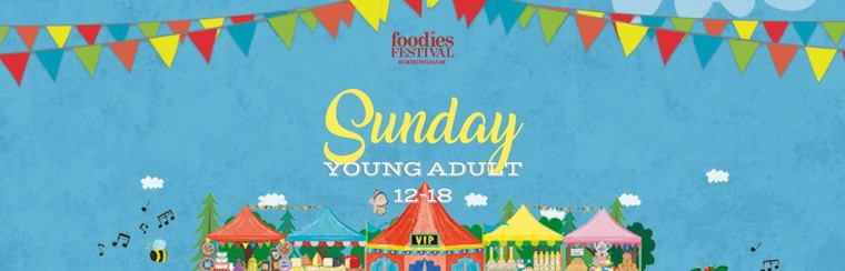 Young Adult (12-18) Sunday Ticket