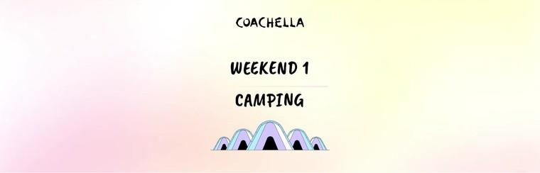 1er week-end : Camping en tente