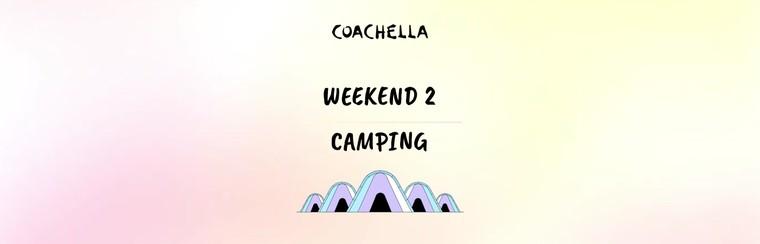 2e week-end : Camping en tente