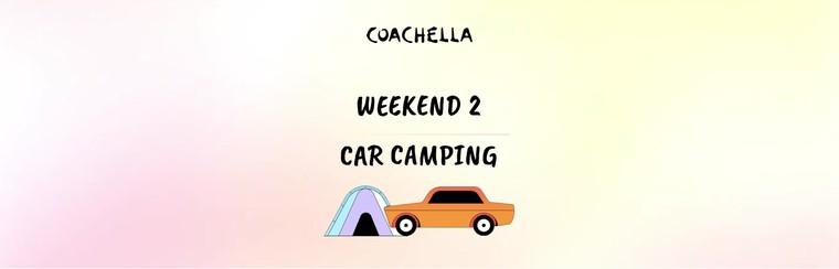 2e week-end : Camping avec véhicule