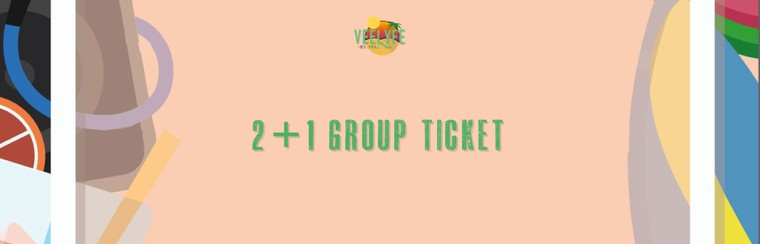 Festival Group Ticket - 2 + 1