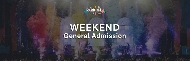 Weekend GA Ticket