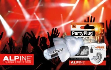 Bouchons d'oreille Party Plug