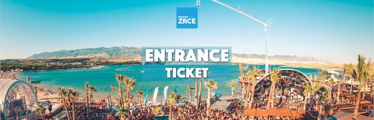 Entrance Festival Ticket