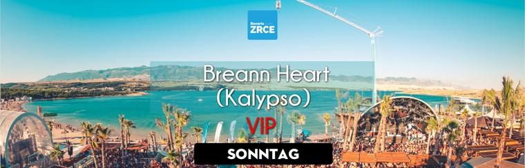 Sunday VIP Ticket | Breann Heart @ Kalypso