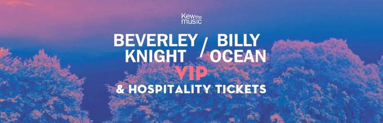 Beverley Knight + Billy Ocean - VIP & Hospitality Tickets