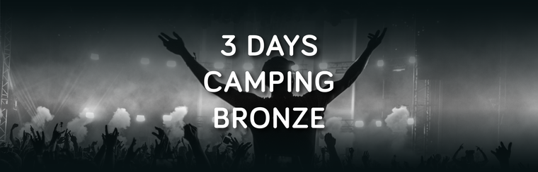 Bronze 3 Day Camping Ticket