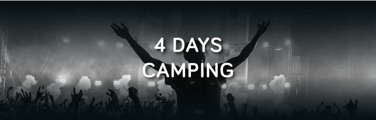 Standard 4 Day Camping Ticket