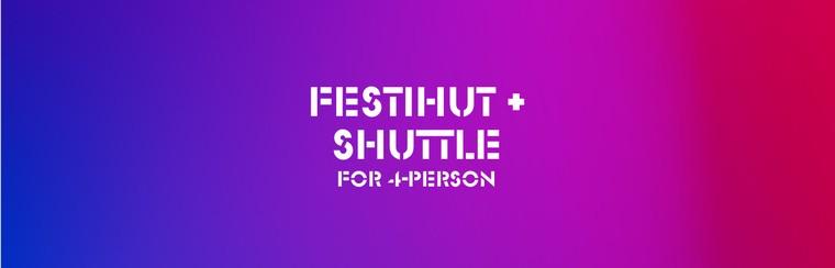 DGTL Camping Pack - Festihut for 4 + Shuttle