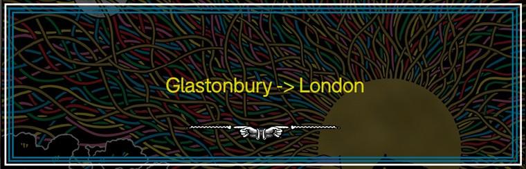 Glastonbury to London Coach Travel