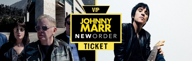 VIP Ticket | New Order + Johnny Marr