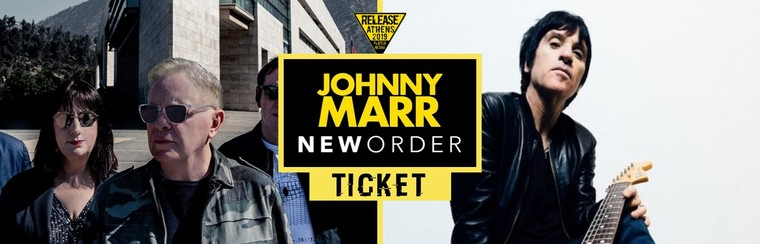 GA Ticket | New Order + Johnny Marr