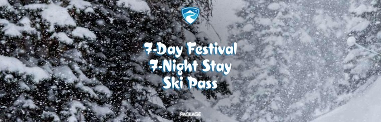 Festival Pass + Accommodation  + Ski Pass