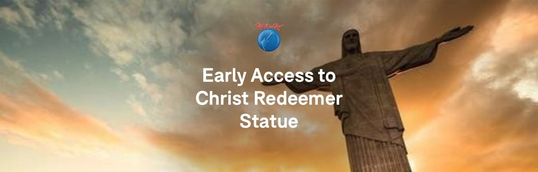 Early Access to Christ Redeemer Statue with Sugar Loaf Mountain and BBQ