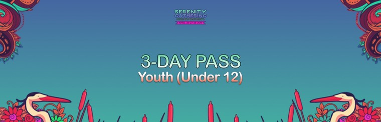 3-Day Pass - Youth (Under 12)