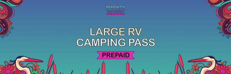 Prepaid - Large RV Camping Pass