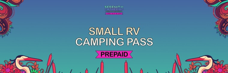 Prepaid - Small RV Camping Pass