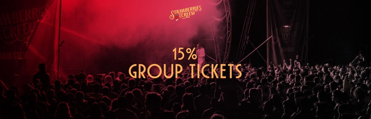 15% Off Group Ticket