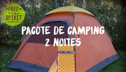 Set Up Yourself Camping Pack - 2 nights