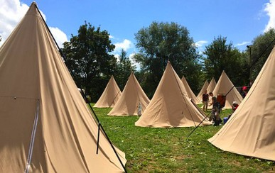 1 Night - Tipi by Bed & Smile