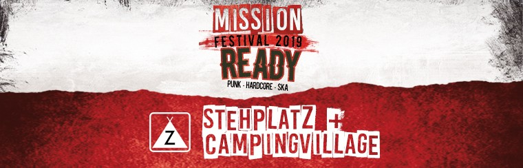 Standard-Ticket mit Camping