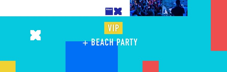 VIP Ticket + Beach Party Ticket